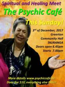 Psychic Cafe Spectacular this Sunday!