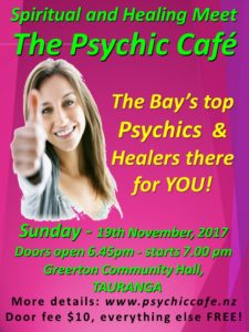 Psychic Cafe is on again this Sunday…yay!!!!