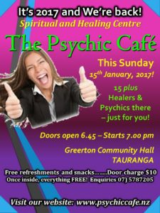 Read more about the article Psychic Cafe first meeting 2017!