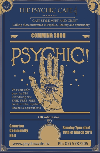 Psychic Cafe Next Meet 19th March 2017