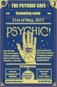 Read more about the article Psychic Cafe next meets 21st May 2017