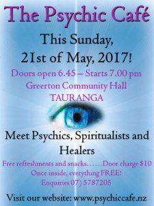 Psychic Cafe Sunday 21st May 2017