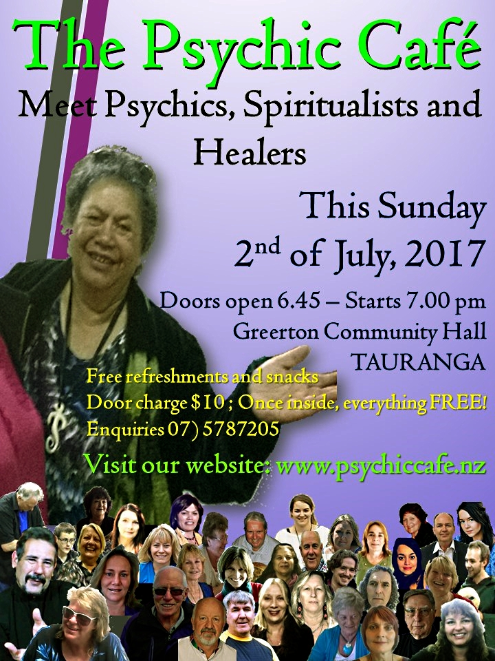 Psychic Cafe this Sunday !!!!!