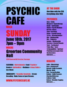 OMG Psychic Cafe this Sunday – a must go!