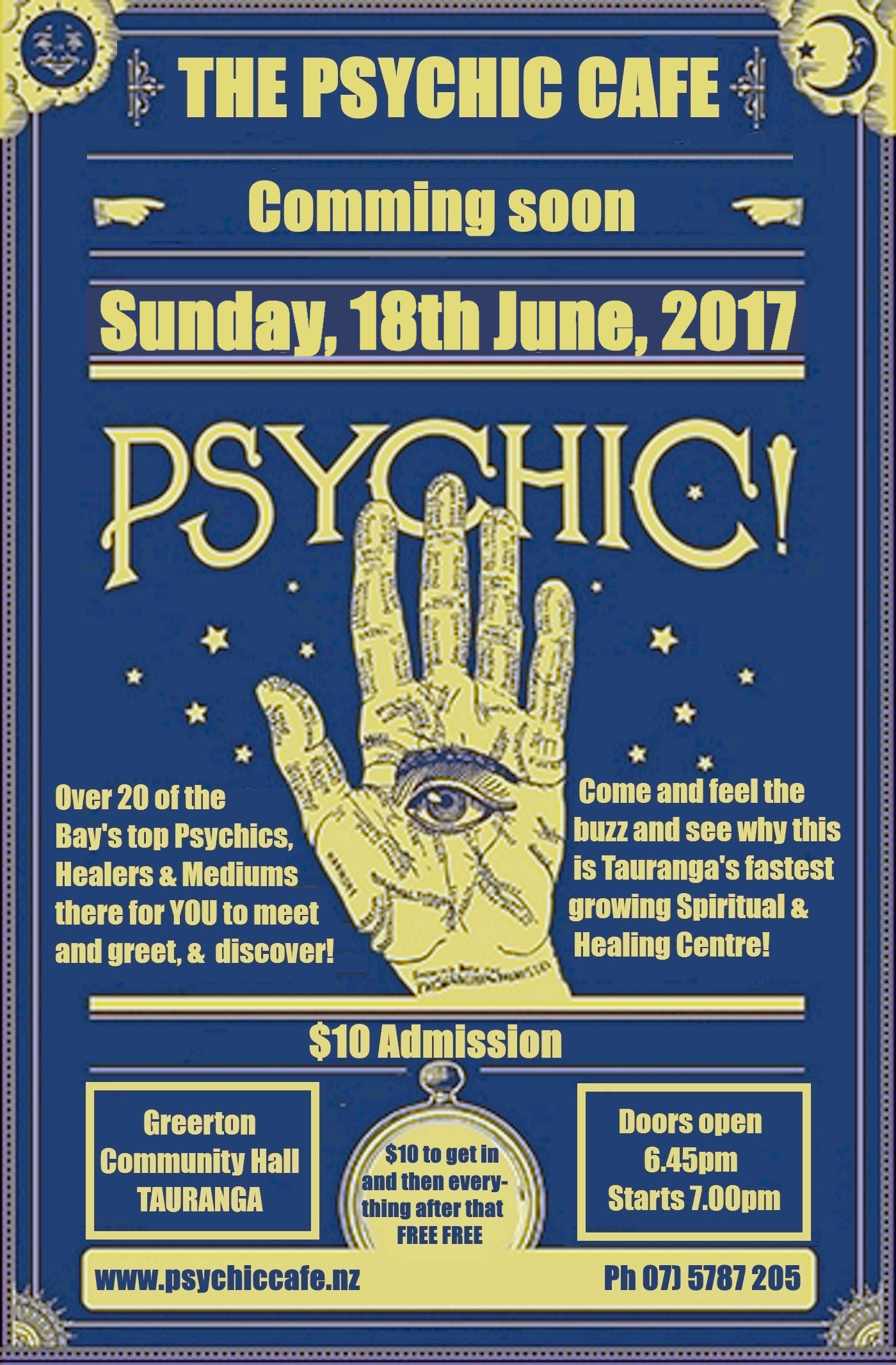 See what the 'buzz' is about…Psychic Cafe this Sunday 18th June