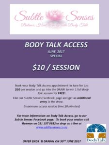 Body Talk Access June 2017 Special