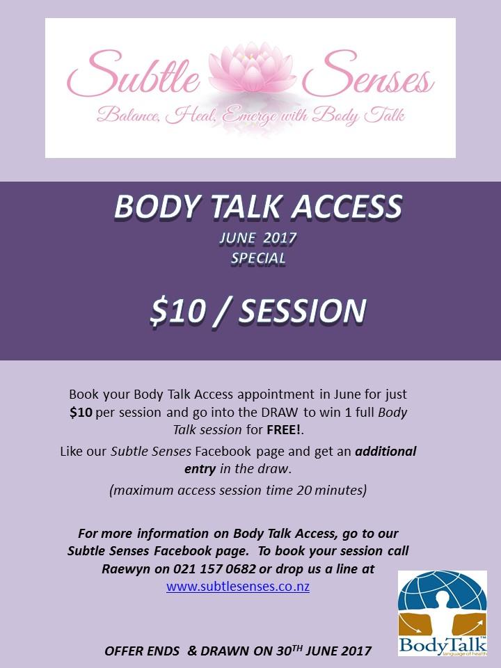 Body Talk Access June 2017 Special