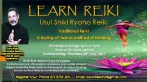 Learn Reiki (laying of hands healing)