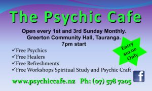 Psychic Cafe Spectacular 6th August, 2017!!!!!!!!!