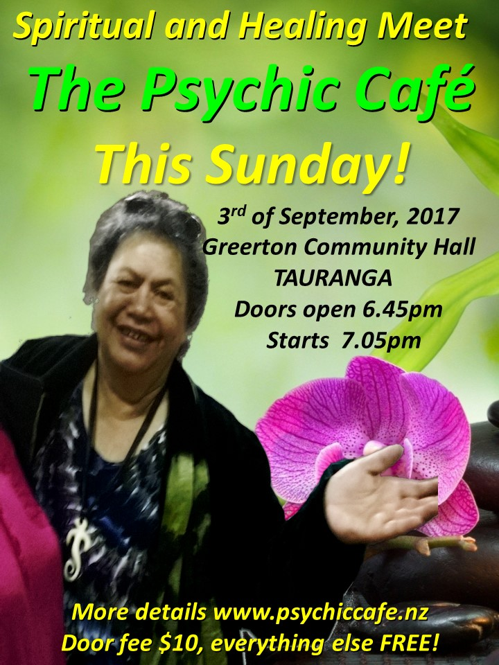 Read more about the article Psychic Cafe Meet this Sunday 3rd Sept 2017
