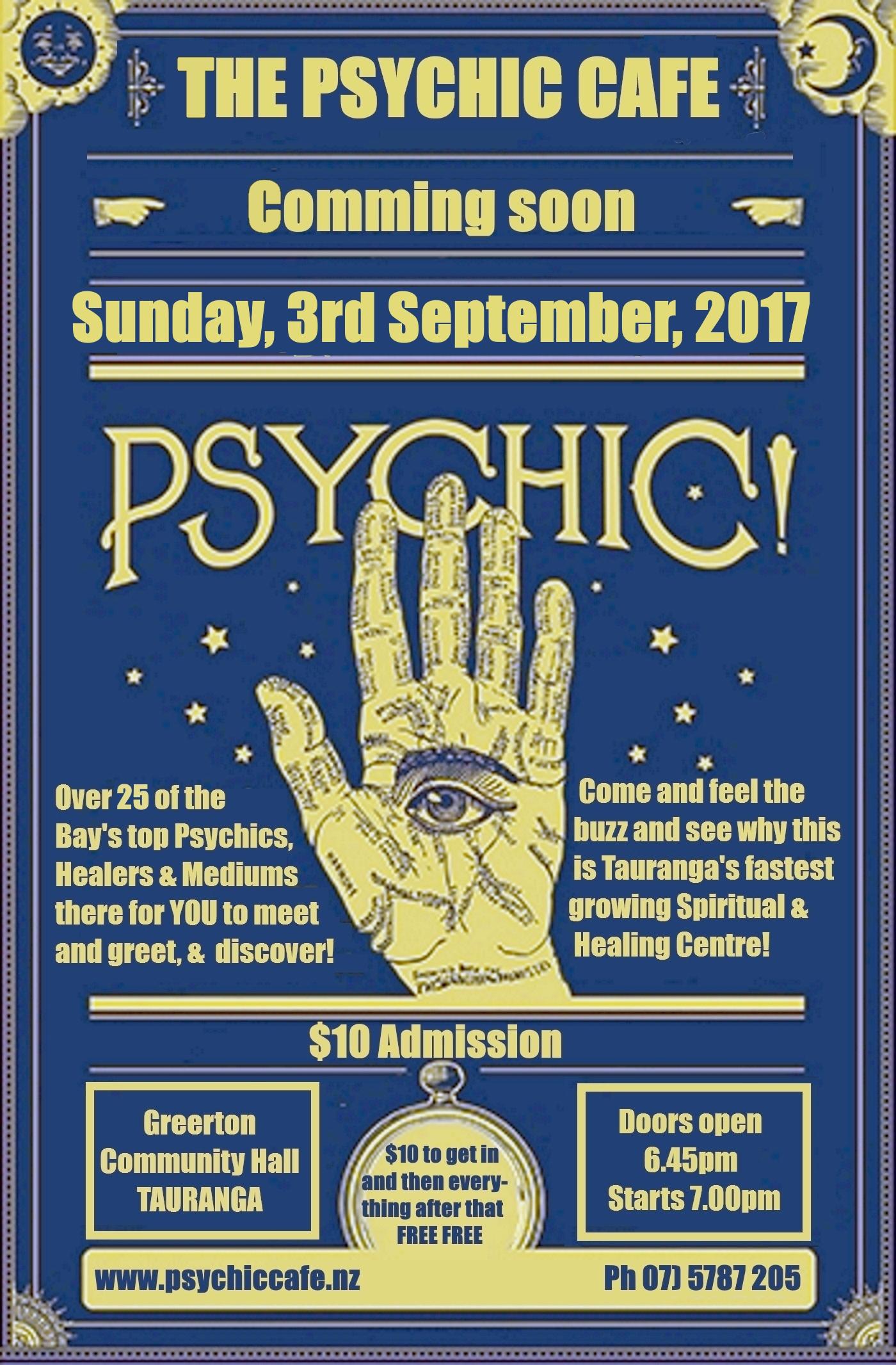 Tauranga Psychic Café Spectacular is on again