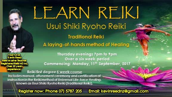 Learn Reiki – Japanese healing technique