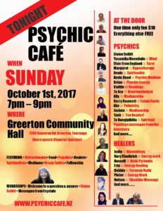 Psychic Cafe on TONIGHT!