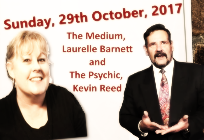 This Sunday! – The Medium and The Psychic Show!