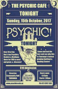 Tauranga Psychic Cafe TONIGHT!!!!!!!!!
