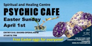 Collect your Free Easter Egg at Psychic Cafe this Sunday!!!!