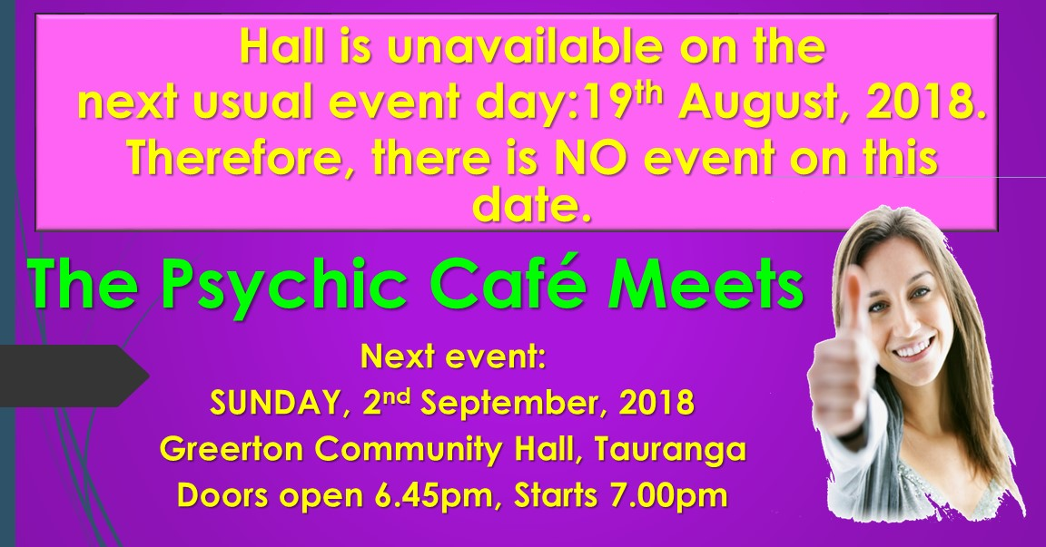 You are currently viewing Psychic Cafe next event: 2nd September, 2018
