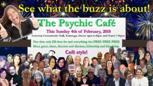 Read more about the article Psychic Cafe Meet – this Sunday, 4th Feb, 2018!!!!!