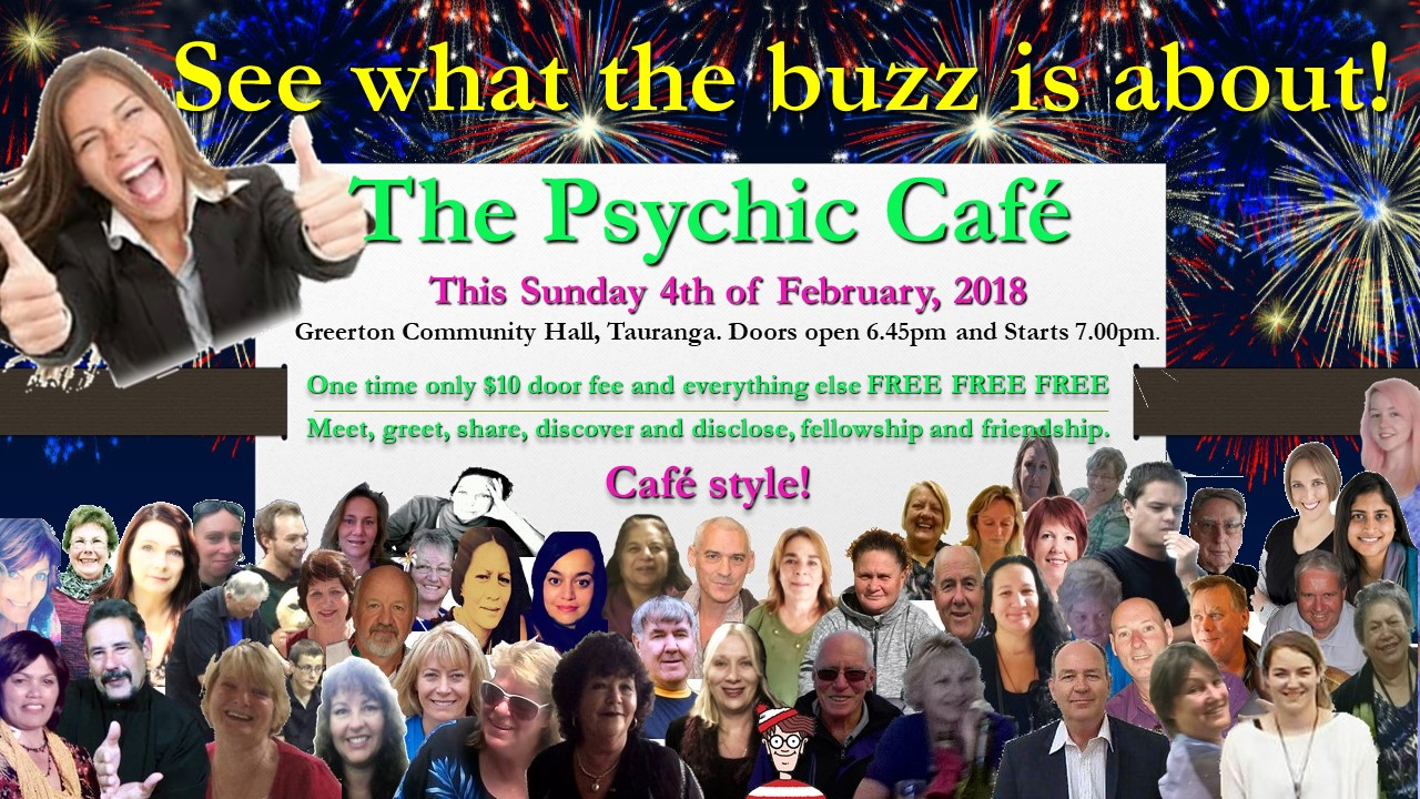 Psychic Cafe Meet – this Sunday, 4th Feb, 2018!!!!!