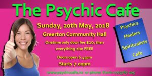 Check out the Tauranga Psychic Cafe this Sunday!!!