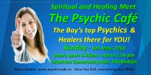 The Psychic Café the 'Number one' Spiritual and Healing Centre in the Bay of Plenty
