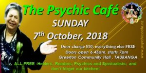The Psychic Cafe 7th October 2018 you don't want to miss this!!!