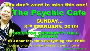 Psychic Cafe meets again 3rd February Sunday –  yayyy!!!
