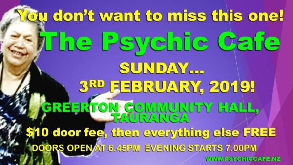 Psychic Cafe meets again 3rd February Sunday –  yayyy!!!