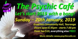 The Psychic Café first meet for 2019