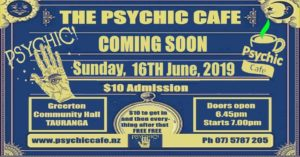 Spiritual & Healing Centre Psychic cafe 16th June 2019