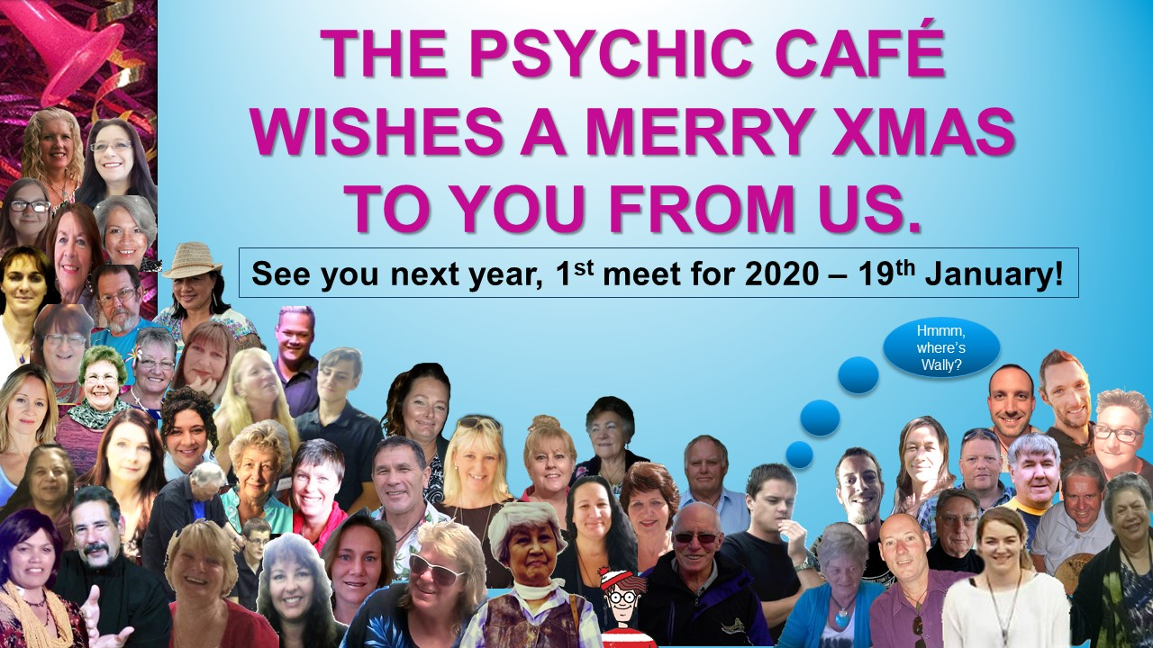 Psychic Cafe announces first event for 2020!!!