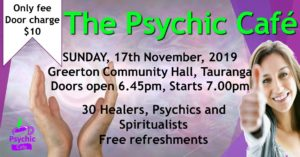 Psychic Cafe Meets 17th November, 2019!!!!
