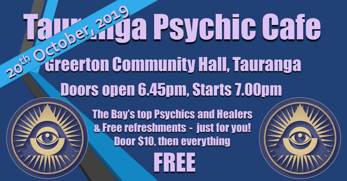 Psychic Cafe Meets 20th October 2019