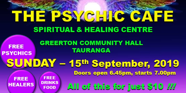 SEE FOR YOURSELF WHY PSYCHIC CAFE IS BAYS TOP SPIRITUAL & HEALING CENTRE!
