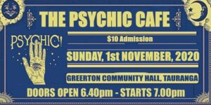 Read more about the article The Psychic Cafe is on this Sunday! yayyy!