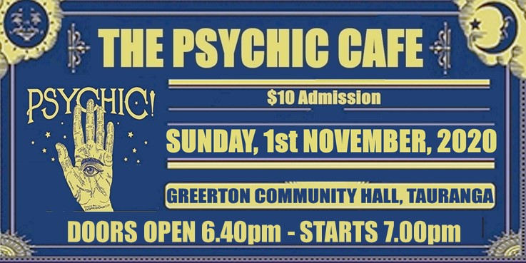 The Psychic Cafe is on this Sunday! yayyy!