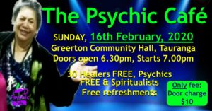 Psychic Cafe Meets 16th February!!!
