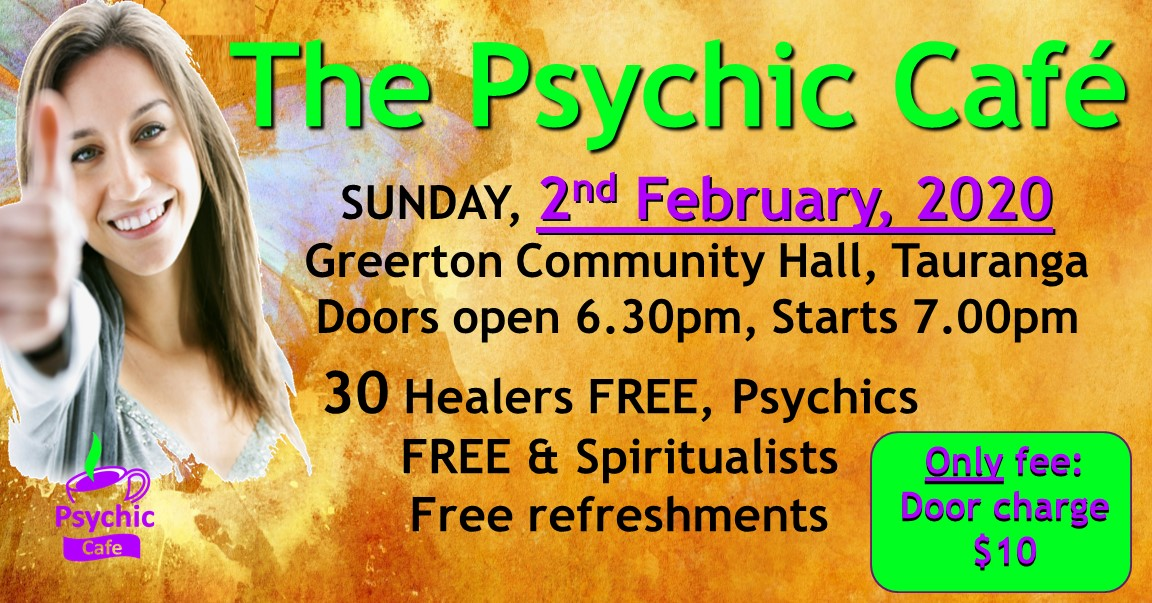Meet the Psychics and Healers, café style!