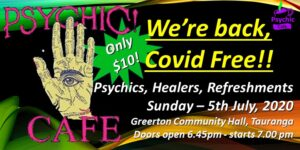 Psychic Cafe first event after lockdown!