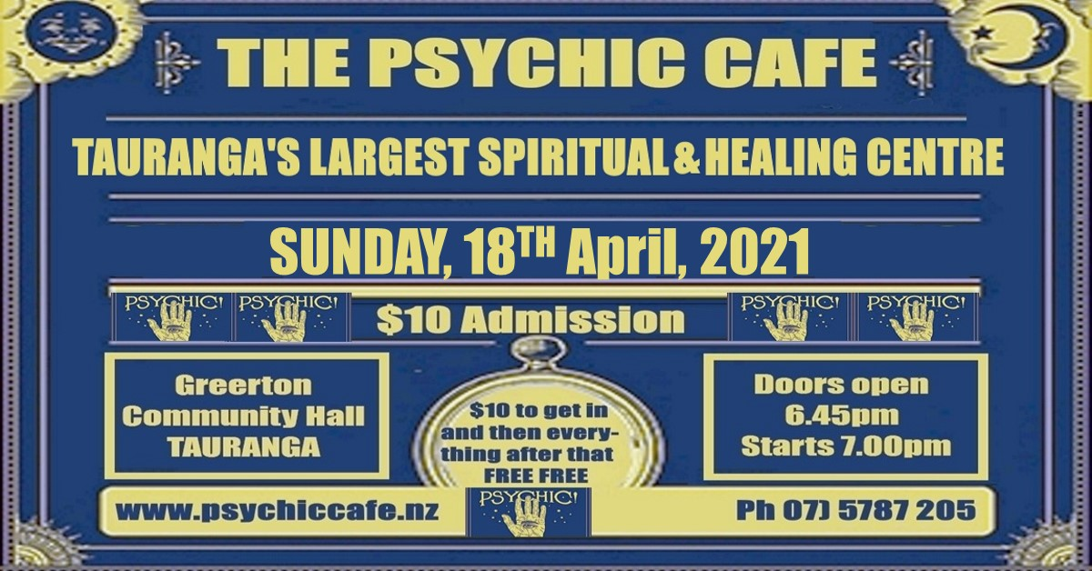 Read more about the article Psychic Cafe Meets Sunday – 18th April, 2021