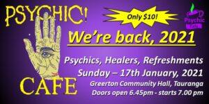 Psychic Cafe 2021 We're back!