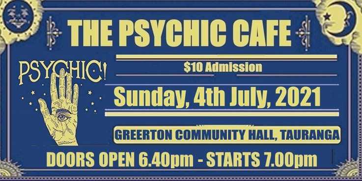 Read more about the article Psychic Cafe is back, 4th July 2021!!!