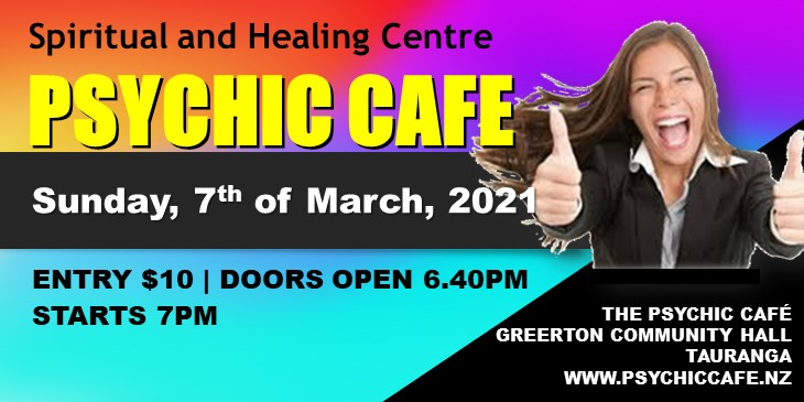 Psychic Cafe meets: Sunday, 7th March, 2021