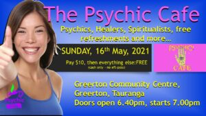 Psychic Cafe Meets 16th May, Sunday!