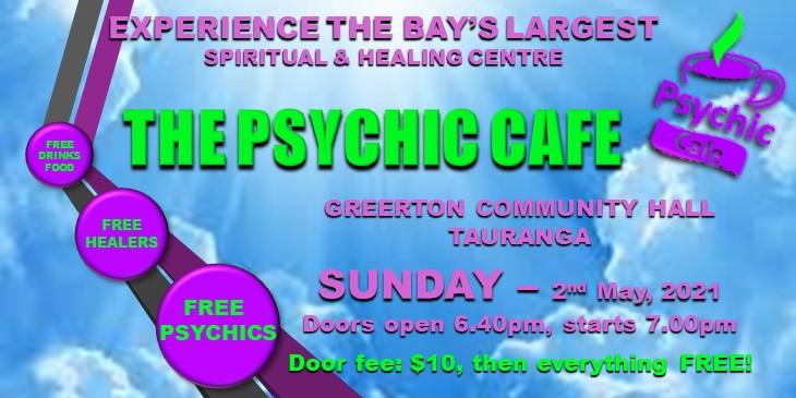 Psychic Cafe Meets Sunday – 18th April, 2021