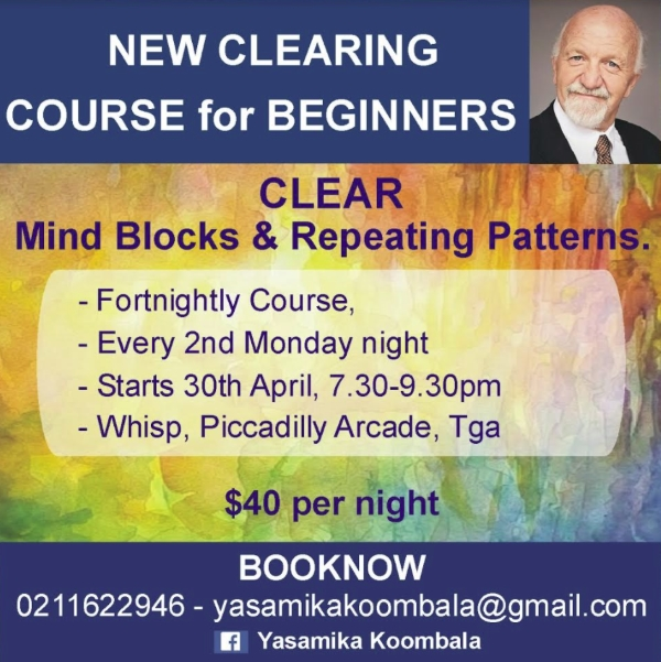 NEW Tauranga Beginners CLEARING Course