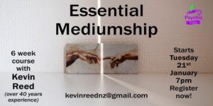 Essential Mediumship – 6 week course
