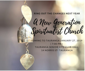 Read more about the article A New Generation' of spiritualist church will be opening in Tauranga on 27 January 2019.