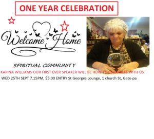 Read more about the article WELCOME HOME SPIRITUAL COMMUNITY