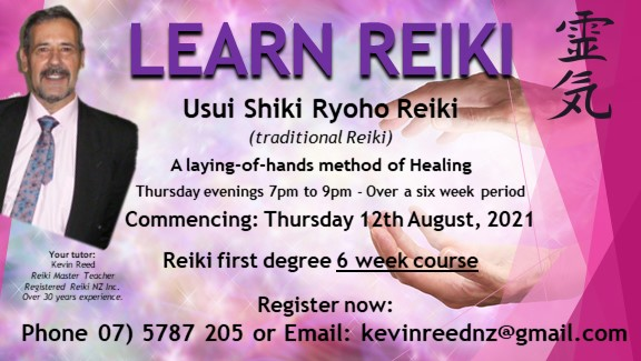 Read more about the article 5 reasons that add value learning from Reiki Master/Teacher Kevin Reed